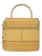 Chloé Small Abylock Padlock Bag - Honey gold