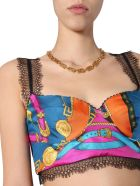 Versace Printed Brassière - Rosso Stampa