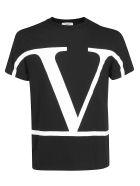 Valentino T-shirt - Nero/bianco
