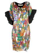 Shirt a Porter Tassels Print Dress