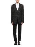 Dolce & Gabbana Striped Suit - Nero bianco