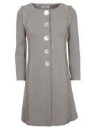 Charlott Frayed Coat - Corda