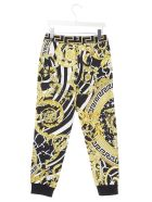 Young Versace 'barocco Icon' Sweatpants - Multicolor