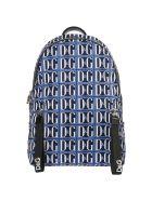 Dolce & Gabbana  Nylon Rucksack Backpack Travel - Blu