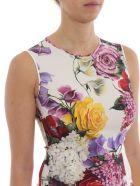 Dolce & Gabbana Floral Print Blouse - Hawortensie/fiori F.nat