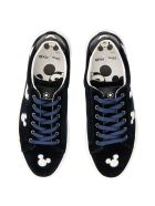 M.O.A. master of arts Disney Victoria Sneakers - BLACK SILVER|Blu