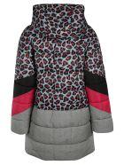 MSGM Zipped Padded Jacket - grey