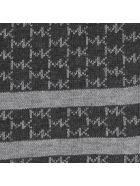 Michael Kors Interrupted Logo Scarf - Charcoal