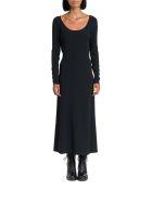 Dsquared2 Crepe Midi Dress - Nero
