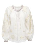 Vita Kin Bodrum Jacket - White/cream