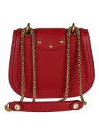 Dolce & Gabbana Logo Plaque Shoulder Bag - Red