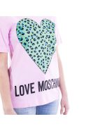 Love Moschino Moschino Cotton T-shirt - Pink