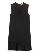 RED Valentino Lace Detail Dress - black