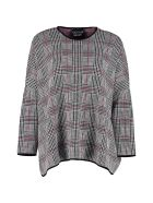Boutique Moschino Prince Of Wales Check Sweater - Multicolor
