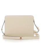 Marni Shoulder Bag Leather - M Silk White Tobacco