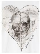 Alexander McQueen 'graphic Heart' T-shirt - White