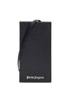 Palm Angels Logoed Glassed Holder - Nero/argento