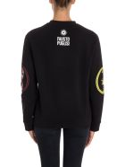 Fausto Puglisi Cotton Sweatshirt - BLACK