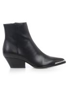 Sergio Rossi Ankle Boots Leather - Nero