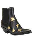 Saint Laurent West Boots - Nero/oro+nero