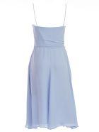 Emporio Armani Gathered Waist Dress - Azure