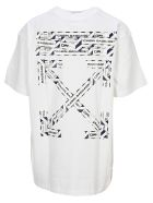 Off-White Off White Airport Tape Printed T-shirt - WHITE