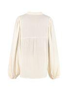 Mes Demoiselles Morgan Long Sleeve Cotton Shirt - Ivory