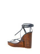 Jacquemus Pilotis Sandals - Blu