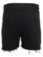 Saint Laurent  Denim Shorts - Worn black