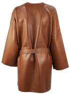 S.W.O.R.D 6.6.44 Brown Leather Jacket - Cuoio
