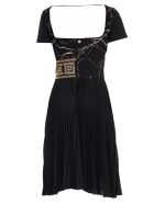 Versace Collection Embellished Dress - Nero