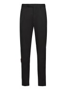 MSGM Virgin Wool Tailored Trousers - black