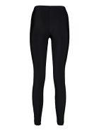 GCDS Technical Fabric Leggings - black