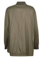 Woolrich Zipped-up Bomber Jacket - Brown
