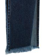 Marques'Almeida Split Hem Jeans - Stonewash