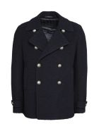Tagliatore Monaco Eco-shearling Jacket - blue