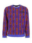 The North Face '92 Rage Sweatshirt - AZTEC BLUE (Orange)