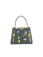 Moschino Pixel Capsule Hand Bag - Grey