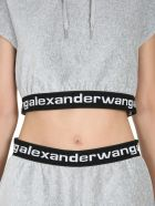 T by Alexander Wang Cropped Sweatshirt - GRIGIO