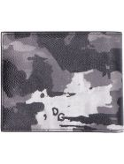 Dolce & Gabbana Printed Leather Wallet - Multicolor