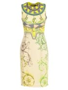 Versace Collection Printed Dress - Glime St