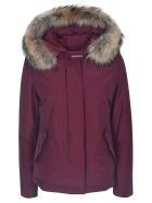 Woolrich Short Artic Parka - Wine