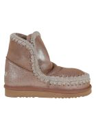Mou Eskimo Boot 18cm - Mgpkbr Pink Brown Microglitter