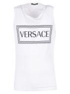 Versace Tank Top - White
