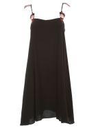 Love Moschino Dress Thin Strap Paillettes - Black