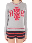 Barrie 'thistle League' Sweater - Grey