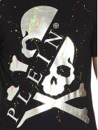 Philipp Plein 'painting Logo' T-shirt - Black