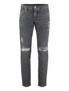 Dolce & Gabbana 5-pocket Slim Fit Jeans - grey