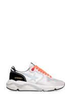 Golden Goose Running Sole Leather Low-top Sneakers - Multicolor