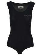 MM6 Maison Margiela Mm6 Logo Bodysuit - BLACK